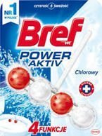 BREF POWER ACTIVE Chlorine kostka kulki do WC 51 g