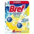BREF POWER ACTIVE Lemon kostka (kulki) do WC 51 g