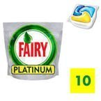 FAIRY Platinum Lemon kaspułki do zmywarek 10 szt.
