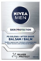 NIVEA MEN Silver Protect balsam po goleniu 100ml