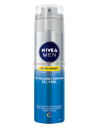 NIVEA MEN Skin Energy żel do golenia 200ml