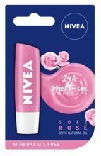 NIVEA Soft Rose pomadka ochronna do ust 4,8g