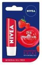 NIVEA Strawberry shine pomadka truskawkowa do ust