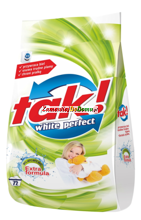 TAK!  White Perfect proszek (72 prania) 6 kg