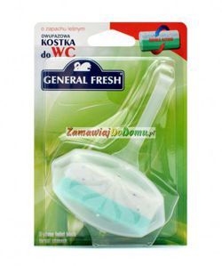 GENERAL FRESH Leśna dwufazowa kostka do WC 40g