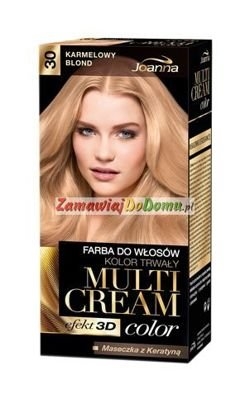 JOANNA Multi Cream Color 30 karmelowy blond farba