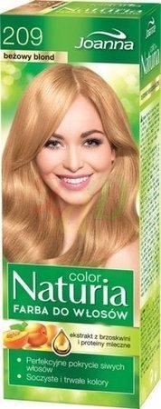 JOANNA NATURIA COLOR 209 BEŻOWY BLOND