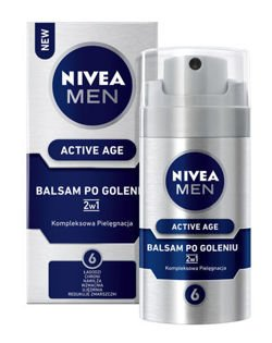 NIVEA MEN Active Age 2w1 balsam po goleniu 75ml