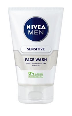 NIVEA MEN Sensitive żel do mycia twarzy 100 ml